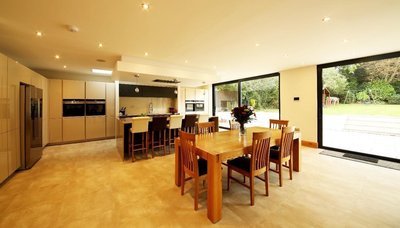 Kitchen flooring Property Refurbishment on Grimwade Avenue, Croydon
