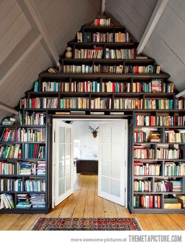 library loft conversion
